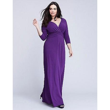 KIYONNA Purple Desert Rain Jersey Maxi Size 4 (26/28)
