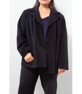 Alfani Black Over Coat Size 3X