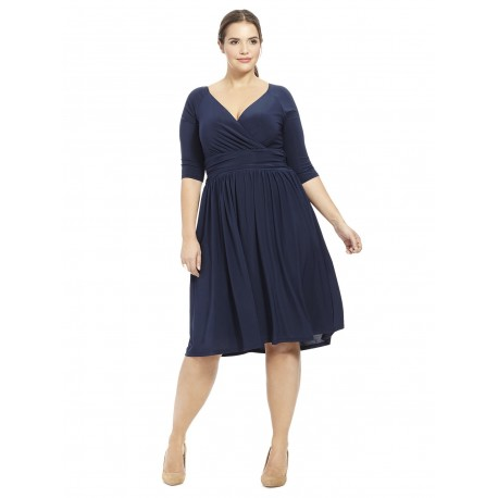 97b2a051f03 Plus Size Igigi Steph Dress Navy Size 18 20