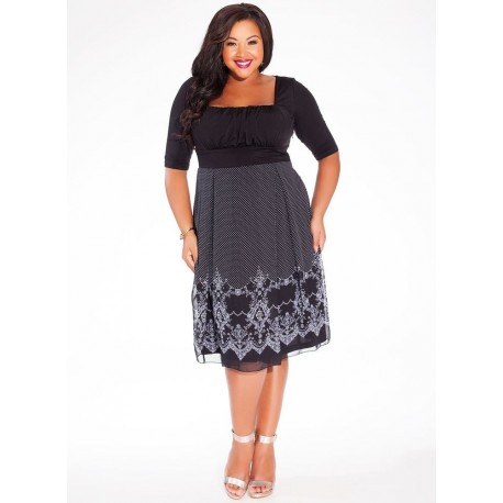 724f335bb2e Plus Size Igigi Black And White Dress 22 24