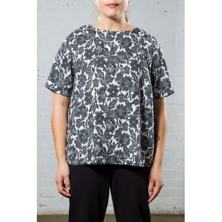 LANE BRYANT FLORAL TEE SIZE 18/20 NEW