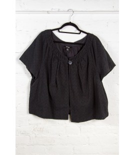 INC Black Shrug Size 22