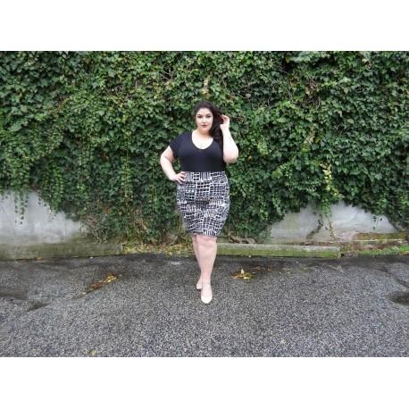 Body Con Skirt-3XL