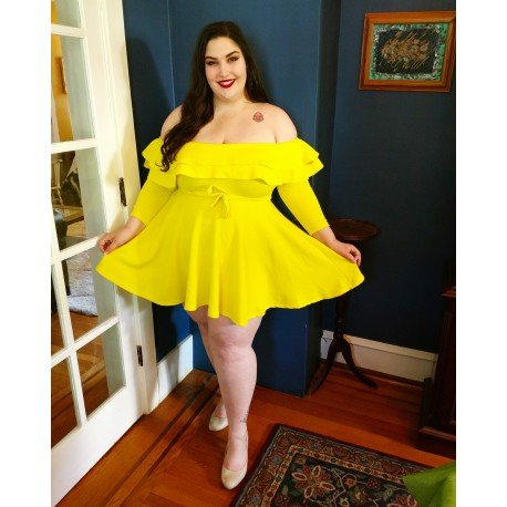 RUE 107 Off The Shoulder  Dress Size 3X