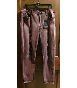 Distressed Skinny Jeans-3X