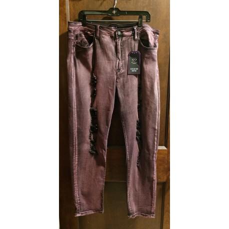 Fashion Nova Distressed Skinny Jeans Size 3X