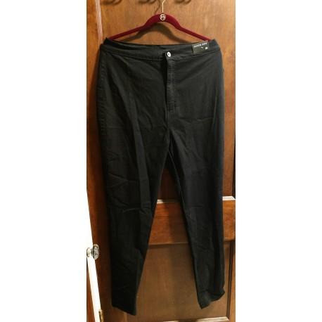 Super High Waist Denim Skinny Jeans-3X