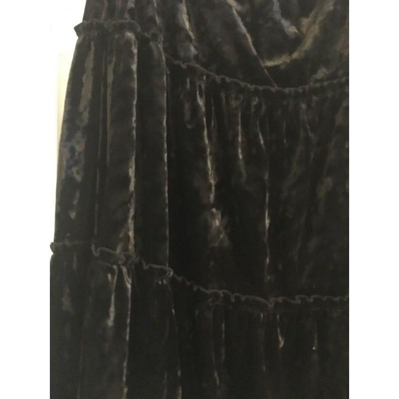 8818cbb0d967 Lane Bryant Black Velvet Maxi Skirt Size 22/24 - StyleForIt