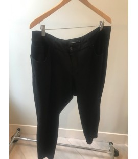 Torrid Black Denim Look Pant SIze 20 Regular